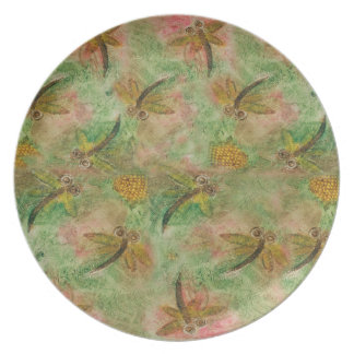 Dragonfly Cotton Candy Party Plate