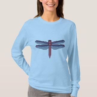 Dragonfly Cross Stitch Pattern T-Shirt