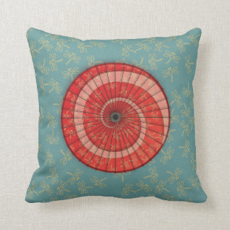 dragonfly dance cushion