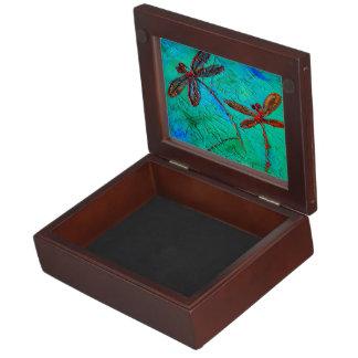 Dragonfly Dance Keepsake Box