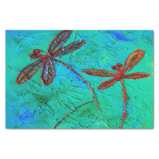 Dragonfly Dance Tissue Paper