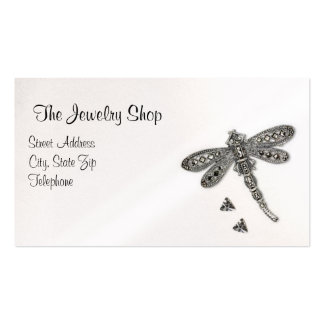 Dragonfly Decorated Business Card