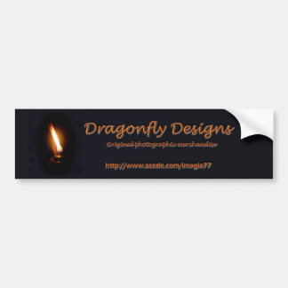 Dragonfly Designs Bumper Sticker