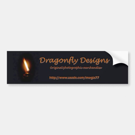 Dragonfly Designs Bumper Stickers