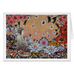 Dragonfly Dream III (Satori at the Fish Pond) Greeting Cards