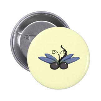 Dragonfly Dreams 6 Cm Round Badge