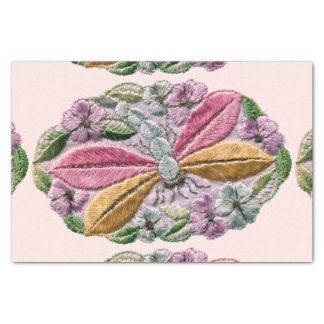 Dragonfly Embroidered Tissue Paper