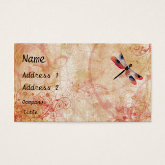 Dragonfly Flourish Business Card