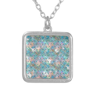 Dragonfly Galaxy Silver Plated Necklace
