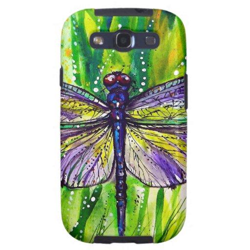 Dragonfly Garden Samsung Galaxy S3 Cases