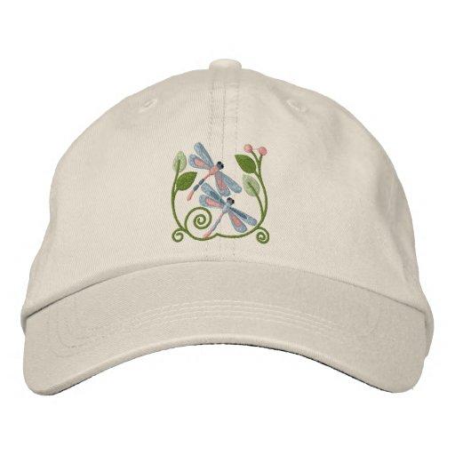 Dragonfly Garden Baseball Cap