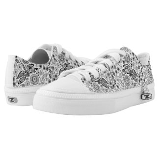 Dragonfly garden low tops
