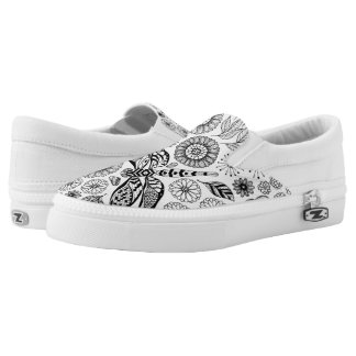 Dragonfly garden Slip-On shoes