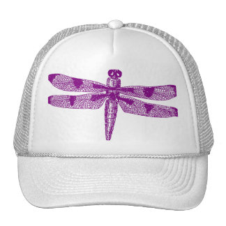 Dragonfly Graphic Hat