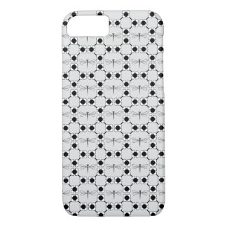 Dragonfly - Grey iPhone 7, Barely There iPhone 7 Case