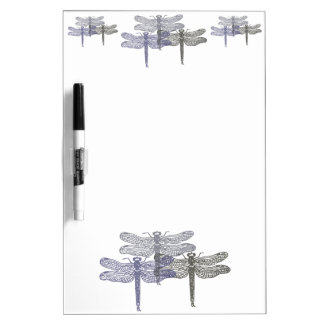 Dragonfly Greys Dry Erase Board