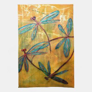 Dragonfly Haze Tea Towel