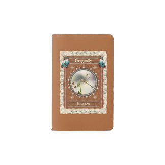 Dragonfly -Illusion- Notebook Moleskin Cover