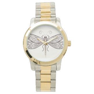 Dragonfly Illustration Wristwatch