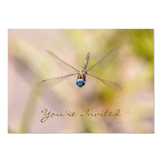 Dragonfly in Flight Photo Card