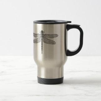 Dragonfly insulated mug