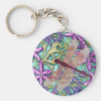 dragonfly key ring