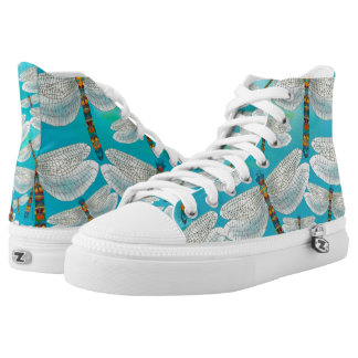 Dragonfly Lake, Turquoise High Tops