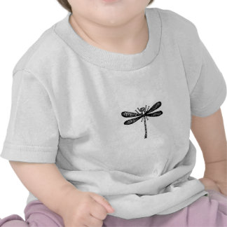 Dragonfly Logo (black and white) Shirt