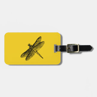 Dragonfly Luggage Tag