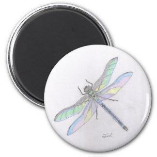 DRAGONFLY magnet (round)