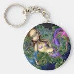 """""""Dragonfly Mermaid"""" Keychain"""