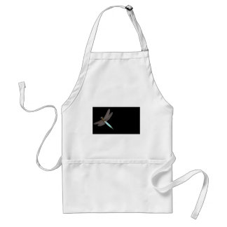 Dragonfly Monogram Business Standard Apron