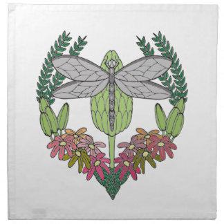 Dragonfly Napkin