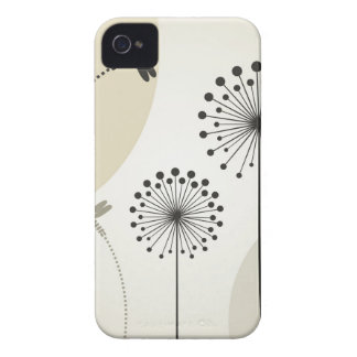 Dragonfly on a flower iPhone 4 Case-Mate cases