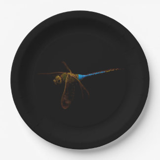 Dragonfly Paper Plate