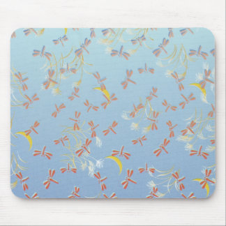 Dragonfly Pattern Mouse Pad
