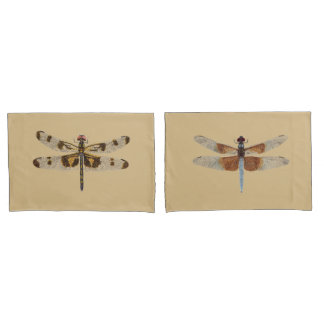 Dragonfly pillowcases
