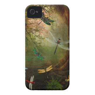 Dragonfly Playground iPhone 4 Case-Mate Cases