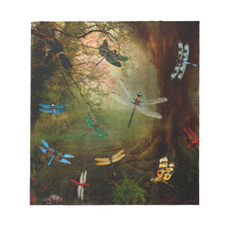 Dragonfly Playground Notepad