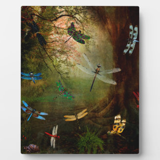 Dragonfly Playground Plaque