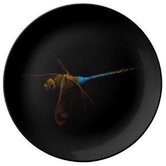 Dragonfly Porcelain Plate