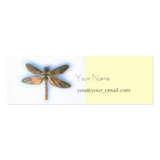 dragonfly profile card business card template