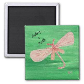 Dragonfly Reminder Magnet