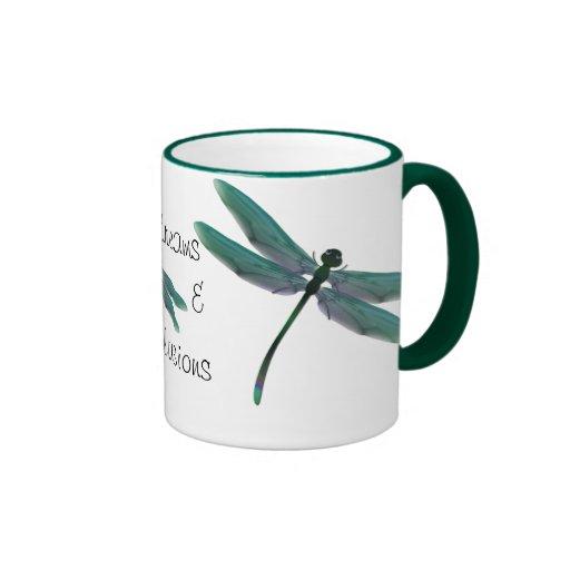 Dragonfly Ringer Coffee Mug