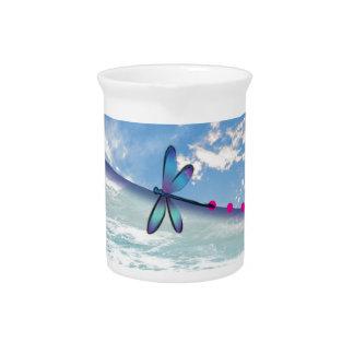 dragonfly-sea-sky pitcher