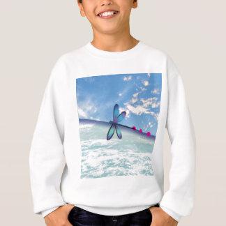 dragonfly-sea-sky sweatshirt