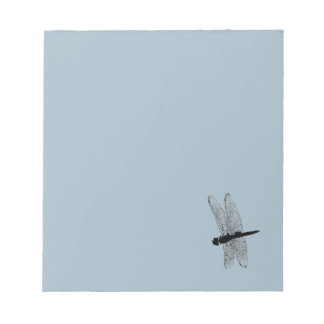 Dragonfly Silhouette Notepad