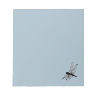 Dragonfly Silhouette Notepad 2