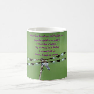 Dragonfly: Strength, Courage & Happiness Coffee Mug