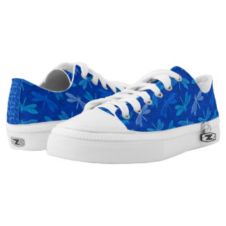 Dragonfly Summer Blues Nature Lover Low Tops